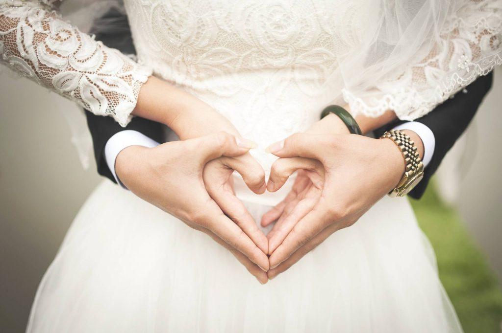 wesela szczęśliwa para